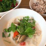 タイ料理🇹🇭 トムカーガイを作ってみました